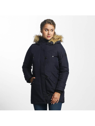 Vero Moda Damen Winterjacke vmExcursion Expedition 3/4 in blau