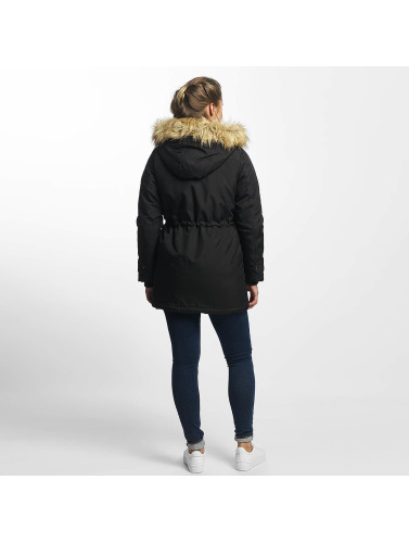 Vero Moda Damen Winterjacke vmExcursion Expedition 3/4 in schwarz