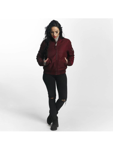 Vintage Industries Damen Bomberjacke Liv in rot