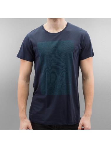 Volcom Hombres Camiseta Vibration in azul