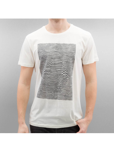 Volcom Hombres Camiseta Vibration in blanco