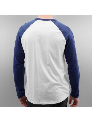 Volcom Hombres Camiseta de manga larga Pen Basic Baseball in azul