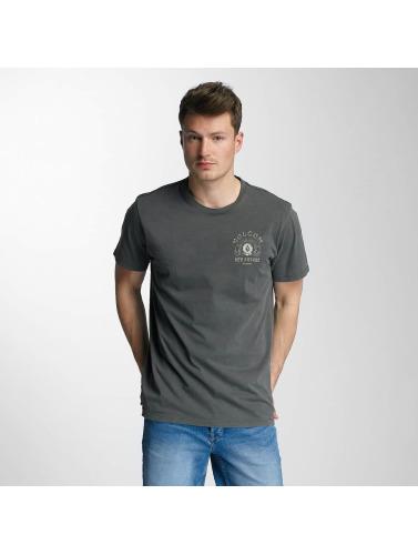 Volcom Hombres Camiseta New Future in gris