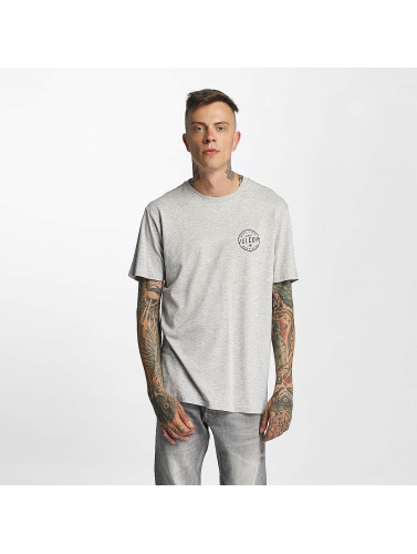 Volcom Hombres Camiseta På Utseendet Grunnleggende I Gris utløp gratis frakt forhandler online klaring bilder rLhjB