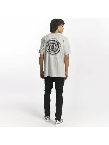 Volcom Hombres Camiseta Comes Around in gris