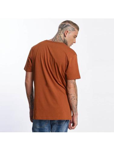 Volcom Hombres Camiseta Burnt Basic in marrón