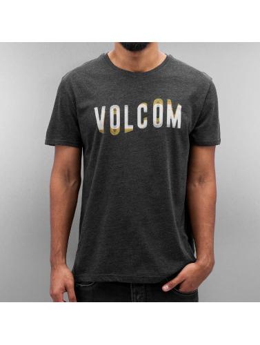Volcom Hombres Camiseta Warble in negro