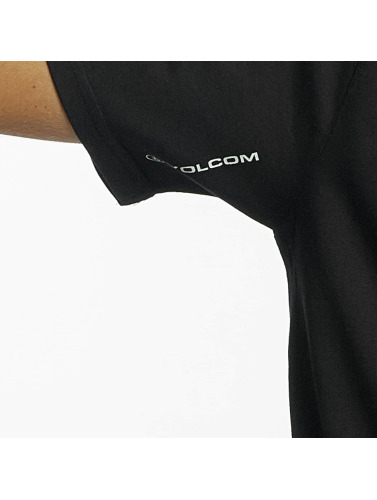Volcom Hombres Camiseta Budy Basic in negro