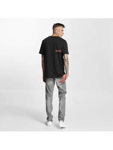 Volcom Negro Hombres In Camiseta Basic Sludgestone aaFq07w
