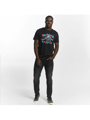 Volcom Hombres Camiseta Wiggle Basic in negro