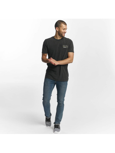 Volcom Hombres Camiseta Coppy Cut in negro