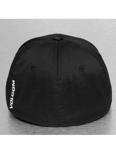Volcom Flexfitted Cap Full Stone in schwarz
