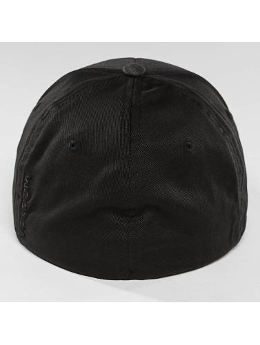 Volcom Flexfitted Cap Full Stone XFit in schwarz