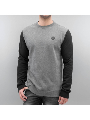 Blocked Hombres Single Volcom Jersey in Color Basic gris 1PnITqxO