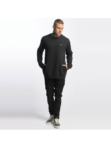 Volcom Hombres Jersey Single Stone in gris