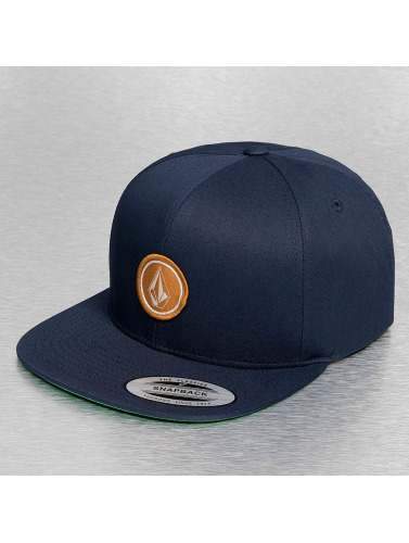 Volcom Snapback Cap Quarter in blau