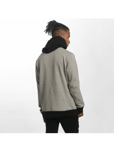 Volcom Hombres Sudadera Single Stone Division in gris