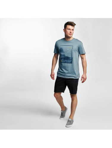 Volcom Herren T-Shirt UP Basic in blau