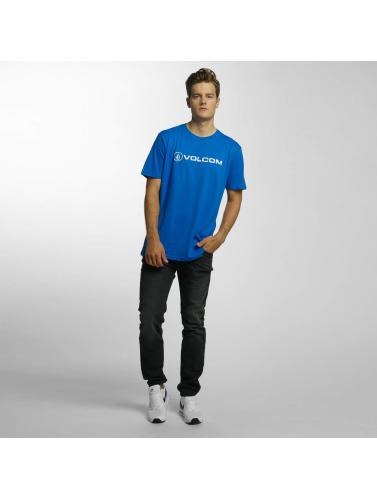 Volcom Herren T-Shirt Line Euro Basic in blau