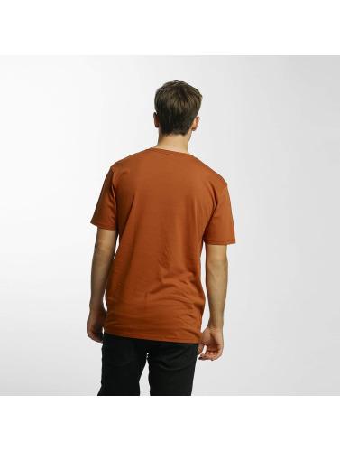 Volcom Herren T-Shirt Line Euro Basic in braun