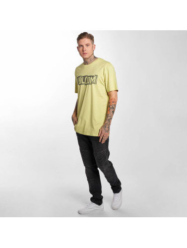 Volcom Herren T-Shirt Edge Basic in gelb