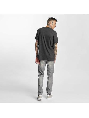 Volcom Herren T-Shirt Pinline Stone Heather in grau
