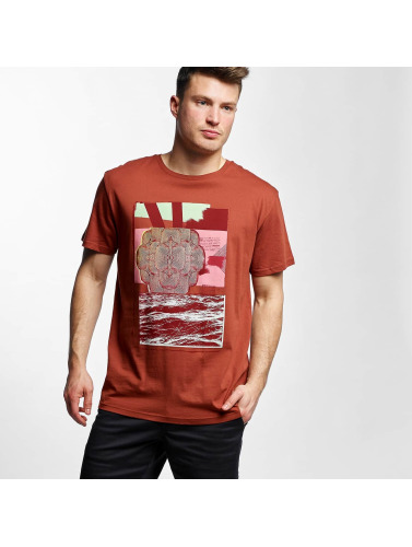 Volcom Herren T-Shirt Wave Basic in rot