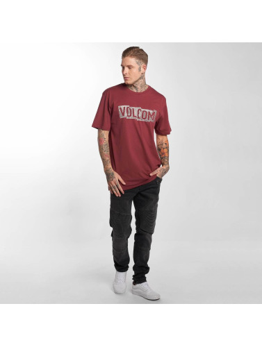 Volcom Herren T-Shirt Edge Basic in rot
