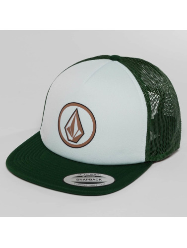 Volcom Trucker Cap Frontal Cheese in grün