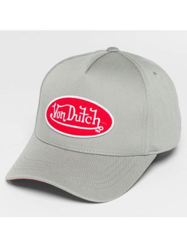 Von Dutch Snapback Cap Classic in grau