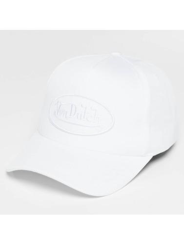 Von Dutch Snapback Cap Classic in weiß