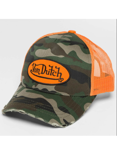 Von Dutch Trucker Cap Camo in camouflage