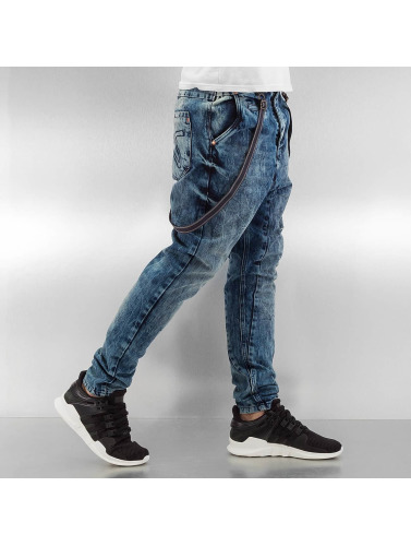 Brad Antifit Slim Herren in with VSCT Supspenders Clubwear blau 6Tf1BB