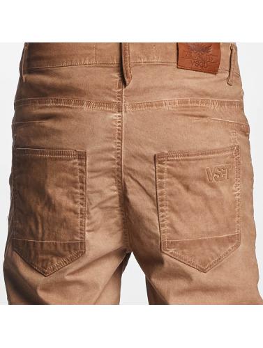 Biker Antifit marrón VSCT Clubwear Noah Hombres in zwI8R
