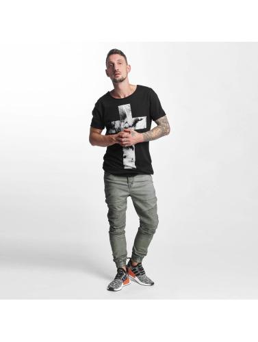 oliva Hombres Biker Clubwear Noah VSCT in Antifit F5wqyTTUY