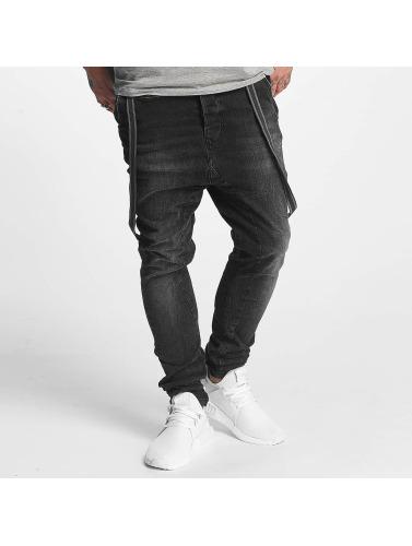 VSCT Clubwear Herren Antifit Brad Black Denim in schwarz