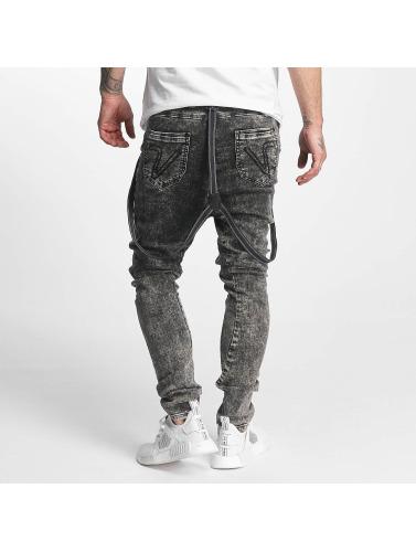 VSCT Clubwear Herren Antifit Brad with Suspenders in schwarz