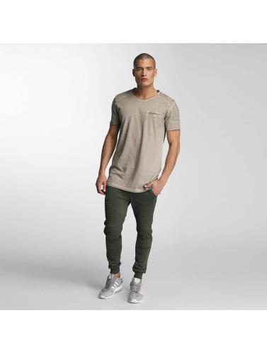 VSCT Clubwear Hombres Camiseta Biker in marrón