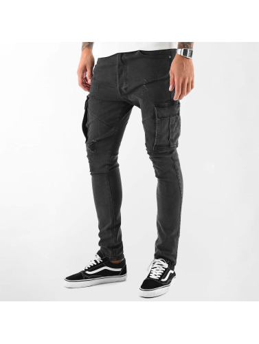 VSCT Clubwear Herren Cargohose Thor Slim in schwarz
