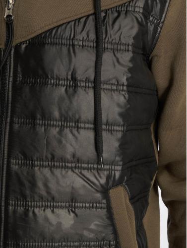 VSCT Clubwear Hombres Chaqueta de entretiempo 2 Colour Amour in caqui