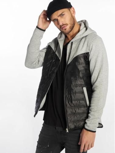 VSCT Clubwear Hombres Chaqueta de entretiempo 2 Colour Amour Mix Fabric in gris