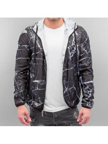 VSCT Clubwear Hombres Chaqueta de entretiempo Marble 2in1 Reversible in negro