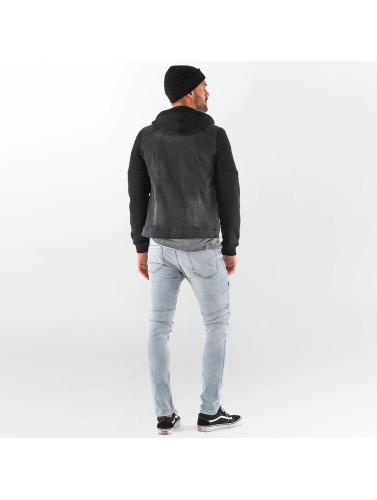 handle for online Vsct Clubwear Jakke Menn I Svart Biker Tilpasset Entretiempo 100% opprinnelige lDuseEj