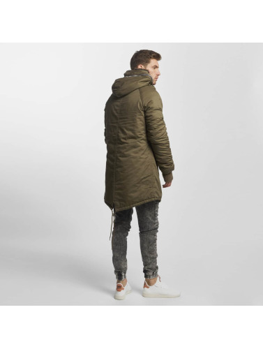 VSCT Clubwear Hombres Chaqueta de invierno Double-Zipper in caqui