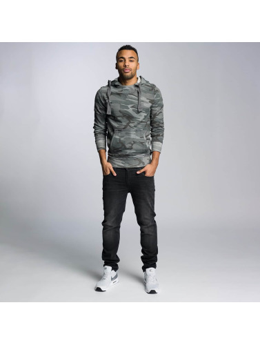 VSCT Clubwear Herren Hoody Raw Edge Camo in camouflage