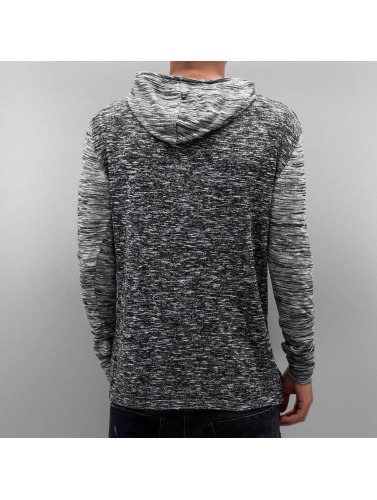 VSCT Clubwear Herren Hoody 2 Btn Hooded Moulinee 2 Colour in grau