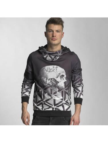 Vsct Clubwear Herren Hoody Crâne Tordu Matix En Grau