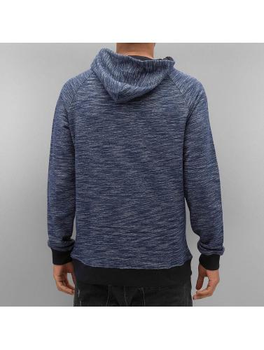 VSCT Clubwear Herren Hoody Shiro 2 Zip Moulinee Kangool in indigo