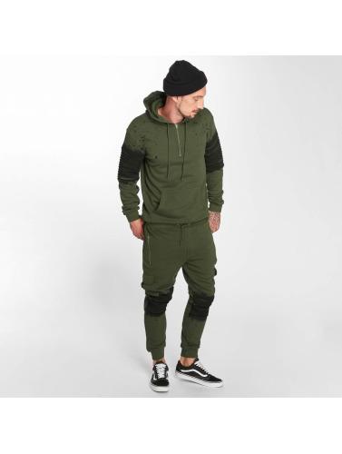 VSCT Clubwear Herren Jogginghose Cargo Oiled in khaki