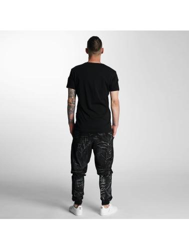 VSCT Clubwear Herren Jogginghose Twisted Anatomy in schwarz